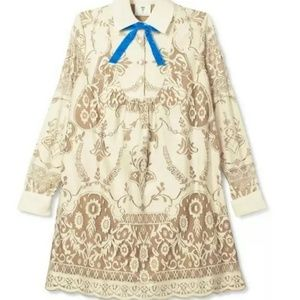 Anna Sui Ivory Lace Dress NWT PRICE FIRM